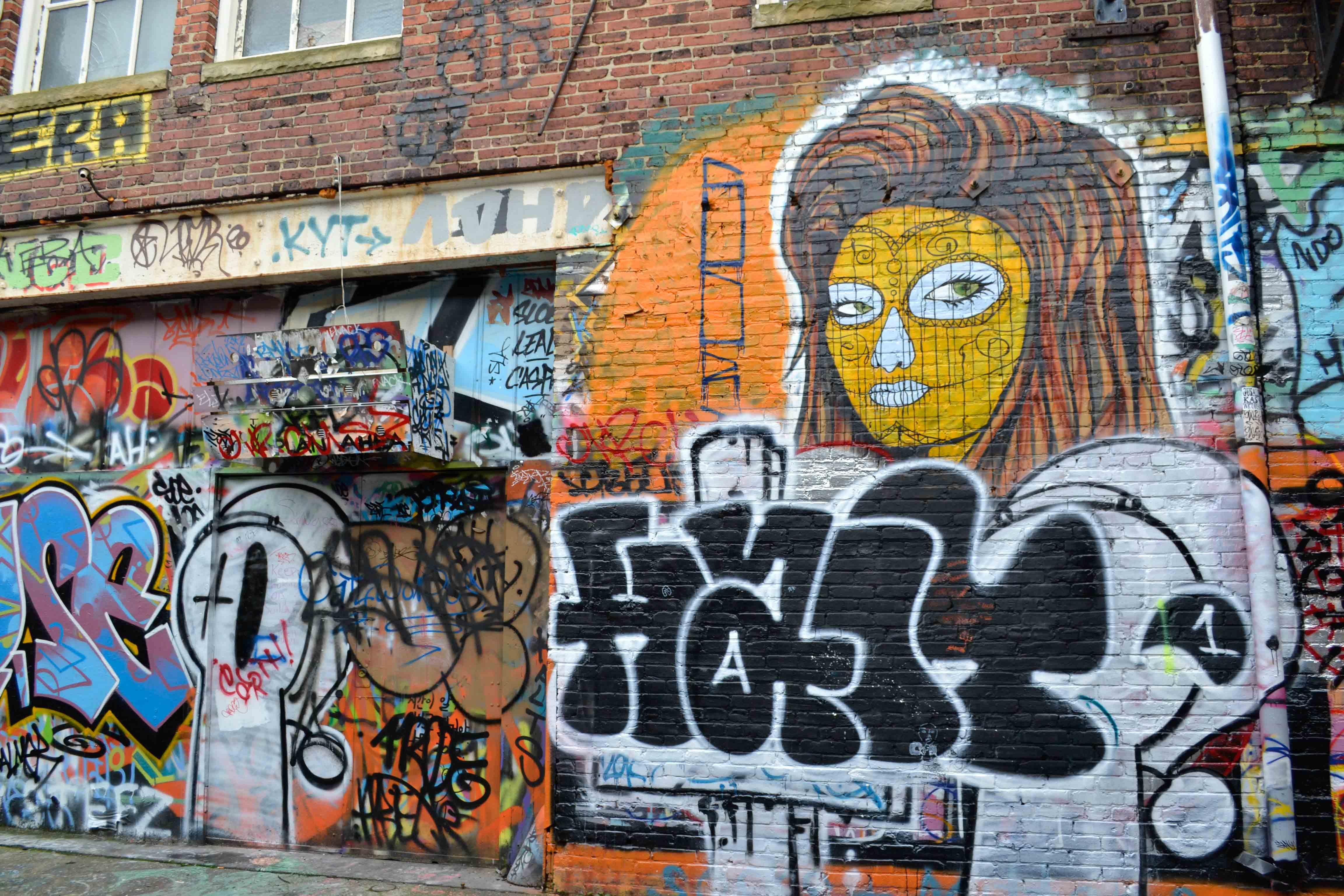 Graffiti wall baltimore - Graffiti