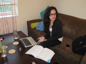 Sydney Smythe, student employee, struggles through the shutdown.