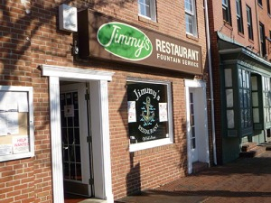 Jimmy's Restaurant in Fells Point