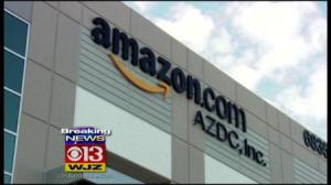 Amazon Moves to Baltimore (Photo by: CBS Baltimore)