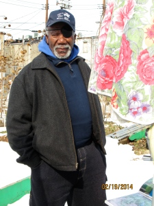 Lewis Sharpe discusses how the Duncan Street Miracle Garden was created and how it affects the Baltimore Community. Sharpe grows fruit and vegetables in his garden and provides these foods for locals in the community.
