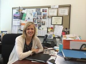 Lorie Logan-Bennett, the director at the Towson University Career Center